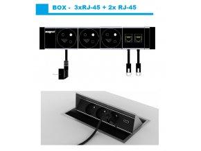 805 magnat box 011 3x 230v 2xrj 45