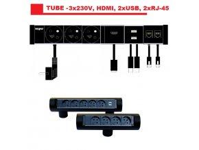 832 magnat tube06 3x230v 2xusb 2 0 hdmi 2xrj 45