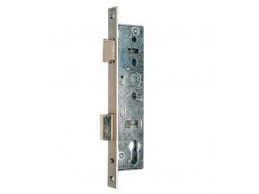 NEMEF série 9600 - zadlabací zámek mech.vložkový úzký (Provedení 9600/07 backset 25mm)