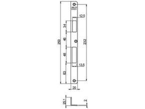 Protiplech EA323 (Provedení Levá)