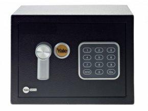 yale YSV/170/DB1 domácí sejf  MINI (Barva černá)
