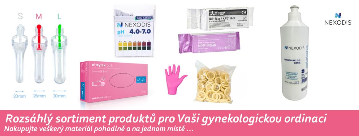 Rozsáhlý sortiment zboží pro Vaši Gynekologickou ordinaci