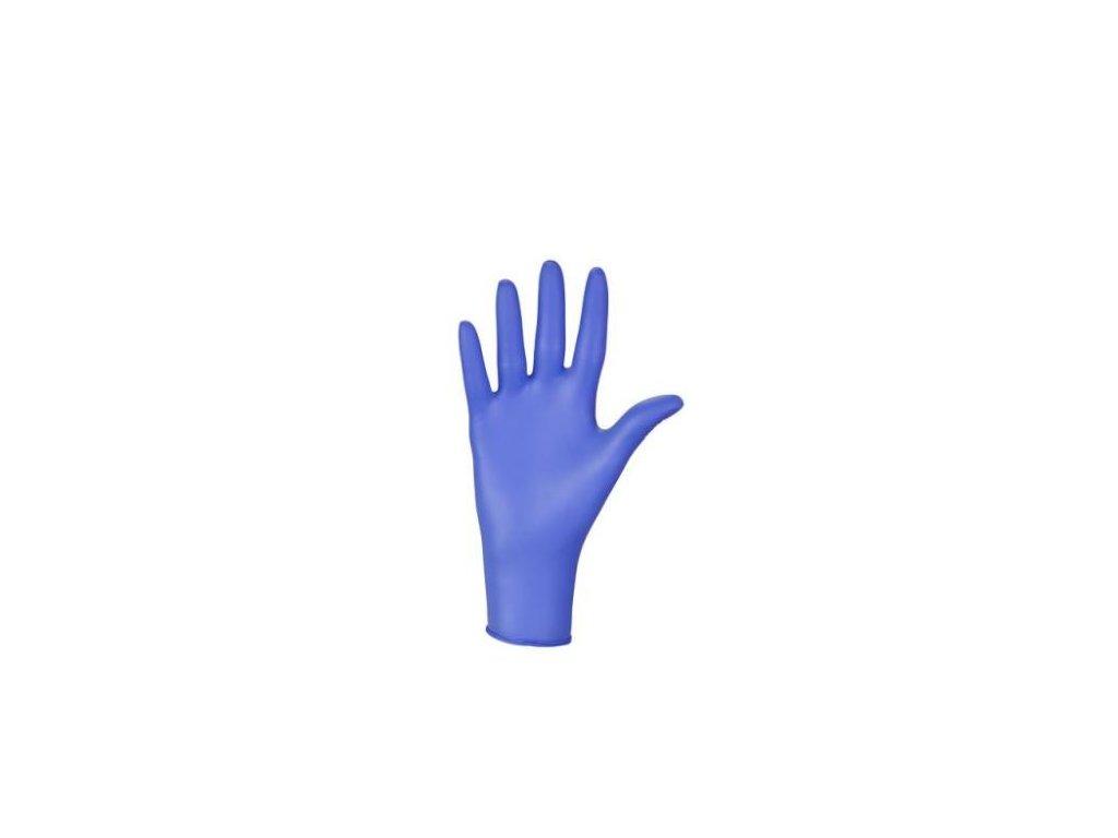 ... NITRYLEX BASIC - Nitrilové rukavice (bez pudru) tm. modré 370d13fcdf