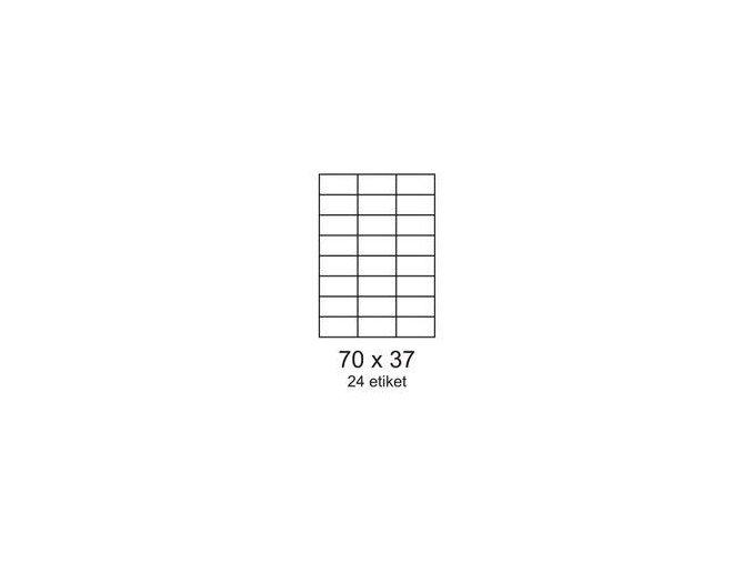 etikety 24 70 x 37 mm