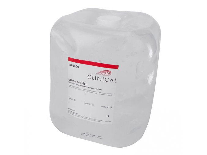 ultrazvukovy gel clinical 5 L 2