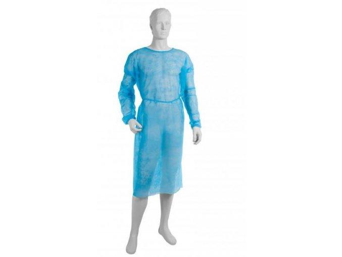 Návštěvnický plášť z netkané textilie 10 ks