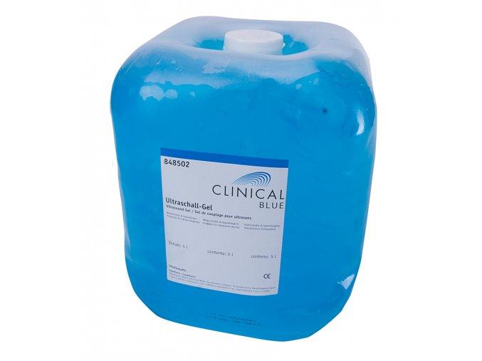 ultrazvukovy gel clinical 5 L blue