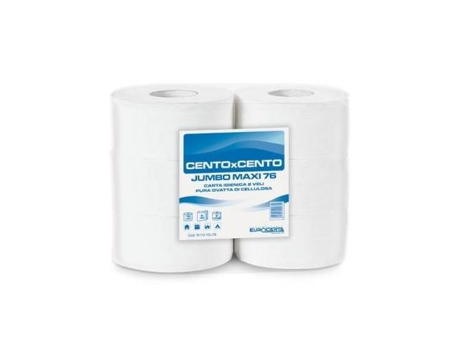 Toaletni papier jumbo 280 2 vrstav celuloza