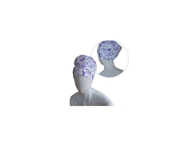 Operační čepice, Violet 10 ks