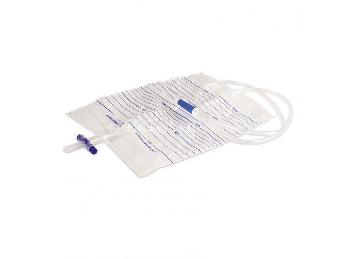 Urinální sáček s výpustí - 2000 ml, sterilní, 10KS