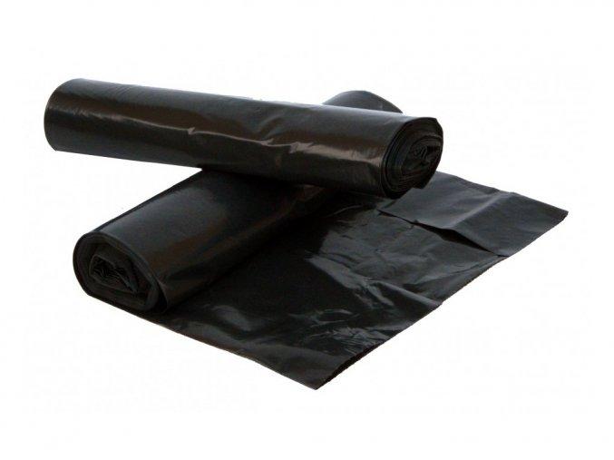 Sáček na odpad HDPE 60l 50 ks/role, černý