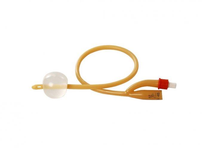 FOLEY Katetr/Cévka NELATON s balónkem 5-15 ml, sterilní, 10 ks