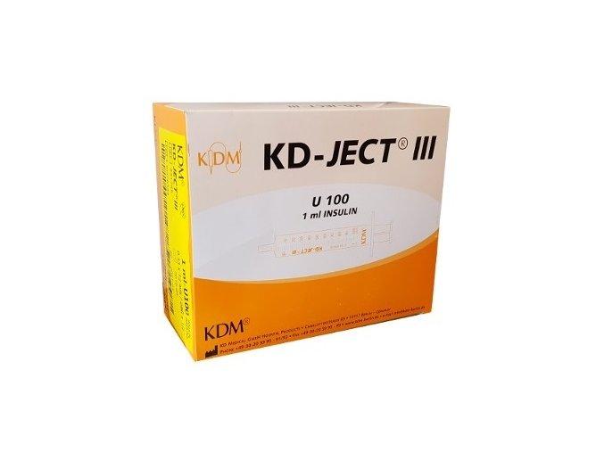 strzykawka insulinowa kd ject iii z igla g29 u 10