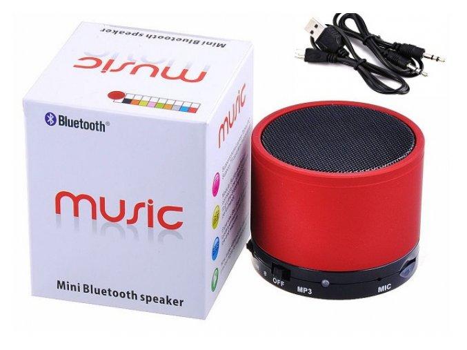 Přenosný MINI Bluetooth reproduktor, 3W (Barva Stříbrná)