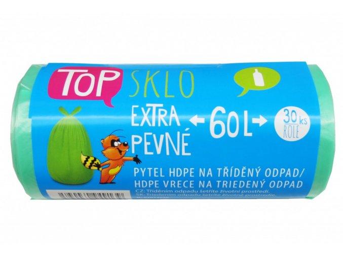2web Pytel na trideny odpad 60L TOP zeleny