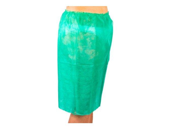 jedorazova gynekologicka.sukne standart 15 zelena