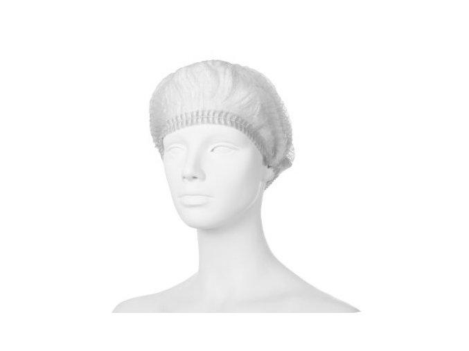 Čepice skládaná – KLIP, bílá
