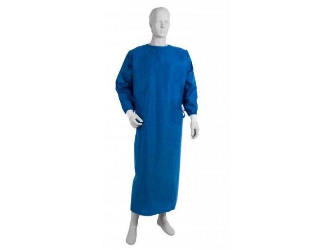 Chirurgický plášť – OPERO, netkaná textilie SMMMS, modrý,