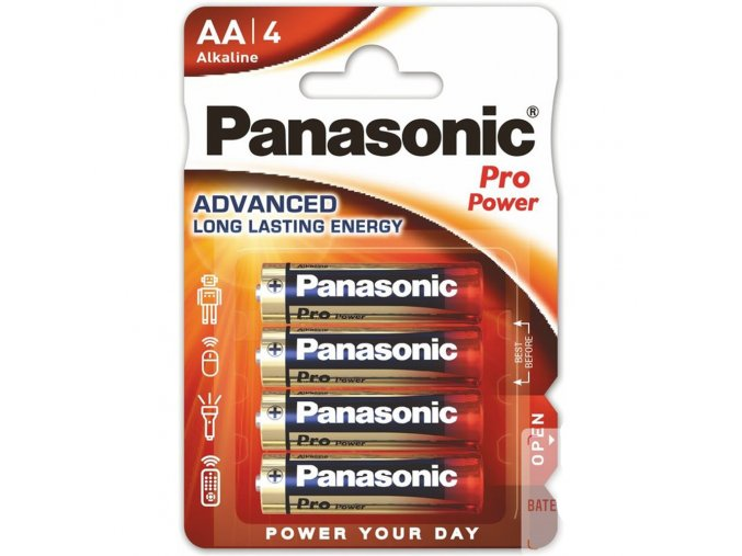 baterie panasonic pro power aa 4ks blistr