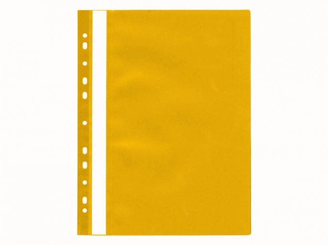 Rychlovazač A4 PP s eurozávěsem, žlutý 235 x 306 x 1mm