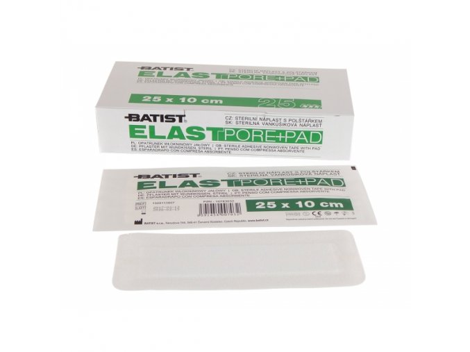 elastpore pad steril 10x25cm