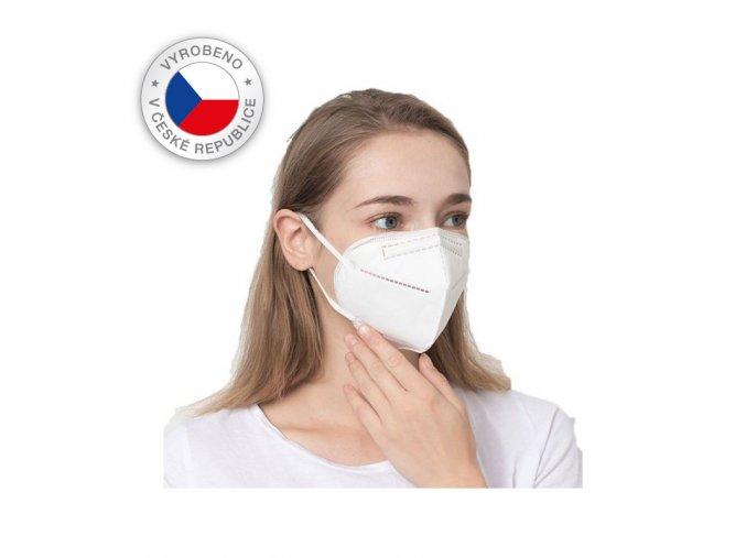 respirator kn95 ffp2CZ 10ks