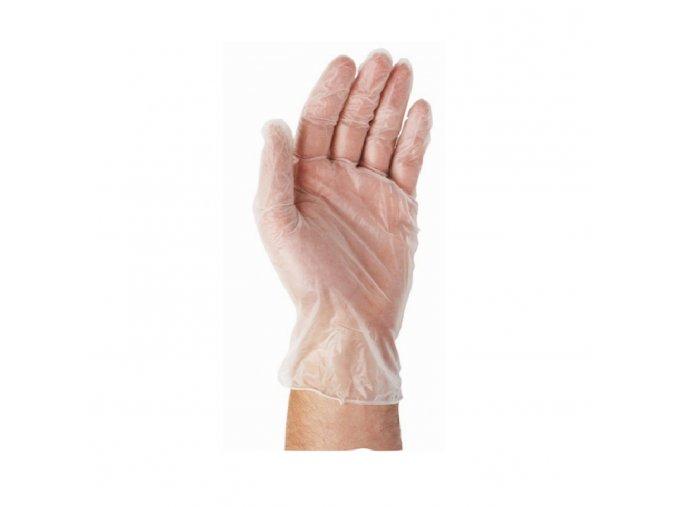 Jednorázové mikrotenové rukavice, 100ks