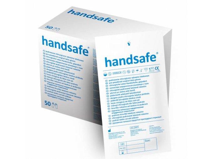 Handsafe operacni rukavice latexove s pudrem