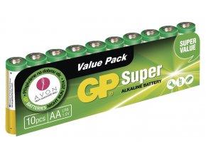 Baterie gp super alkaline lr6 10sh