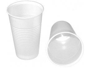 Kelímek na vodu 0,2L, bílý - 100 ks