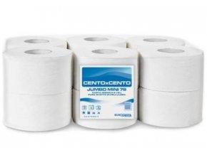 Toaletni papier jumbo 190 2 vrstav celuloza