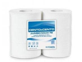 Toaletní papír JUMBO 230, dvouvrstvá celulóza