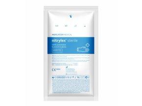 Nitrylex sterile nitrilove nepudrovane rukavice