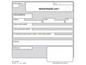 registracni list I II