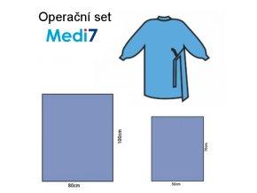 operační set 80x100 a 50x70 + operační plášť