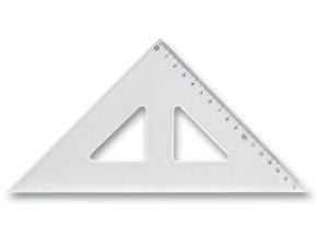 plastove pravitko trojuhelnik 16 cm
