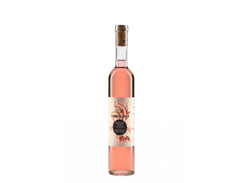Medarna Hradek - Hradecka medovina - melomel with red currant - 0.5 l  glass