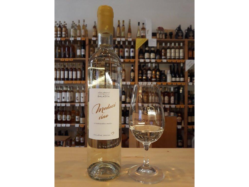 Vcelarstvi Balastik - Honeywine (from flower honey) - 0.5 l  glass