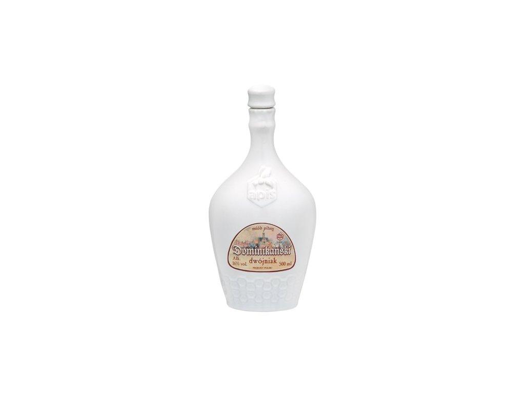 Apis - Dominikański - Miód pitny dwójniak - 0.5 l  ceramic