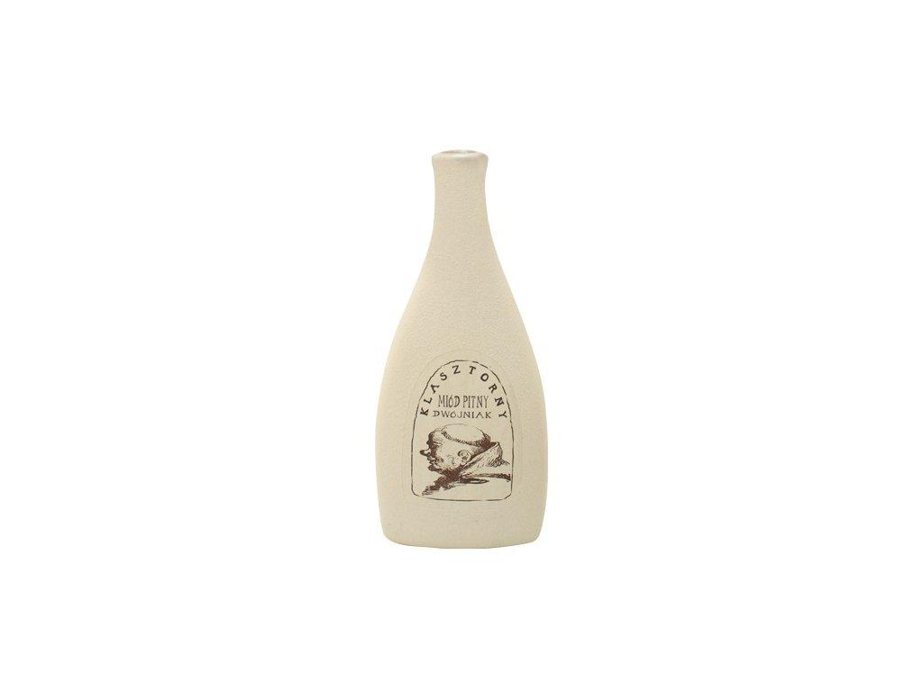 Apis - Klasztorny - Miód pitny dwójniak - 0.5 l  ceramic
