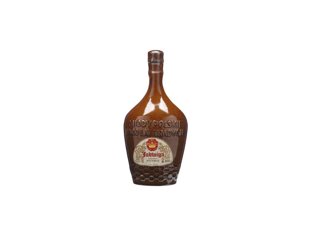 Apis - Jadwiga - Miód pitny Półtorak - 0.5 l  ceramic