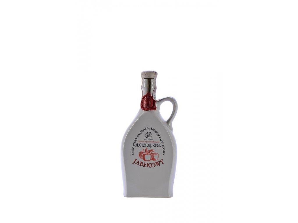 Pasieka Jaros - Miód pitny Dwójniak - Jabłkowy - 0.75 l  ceramic