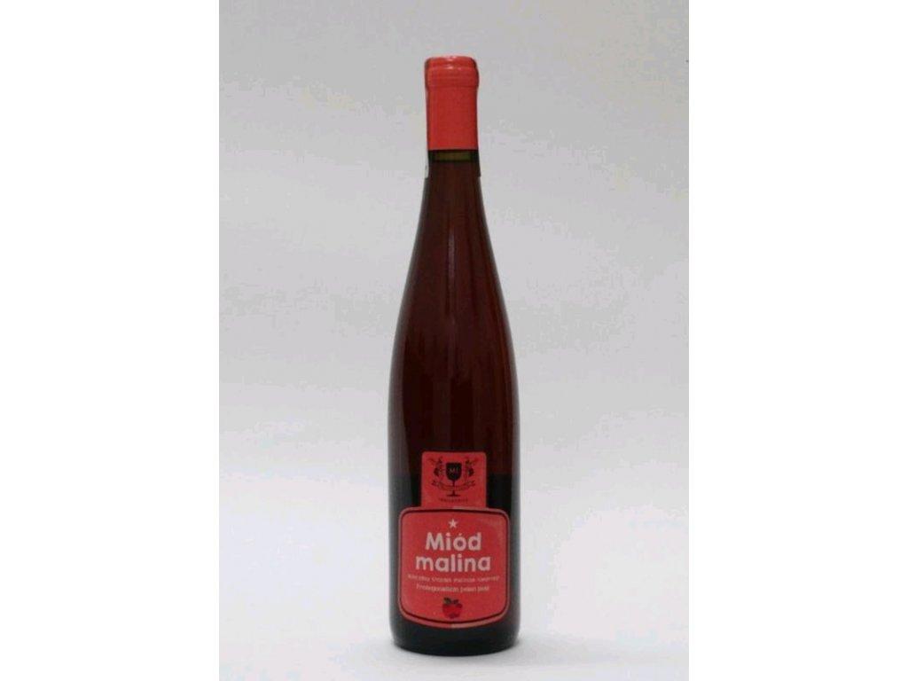 Miodosytnia Imbiorowicz - Miód malina - Raspberry mead - Miód pitny trójniak - 0.75l  glass