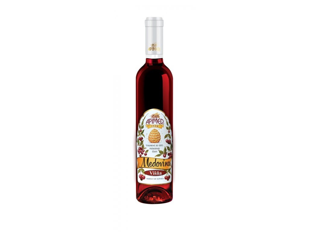 Apimed - Cherry mead - 0.5 l  glass