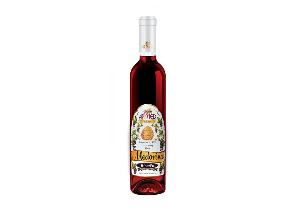 Apimed - Black currant mead - 0.5 l  glass