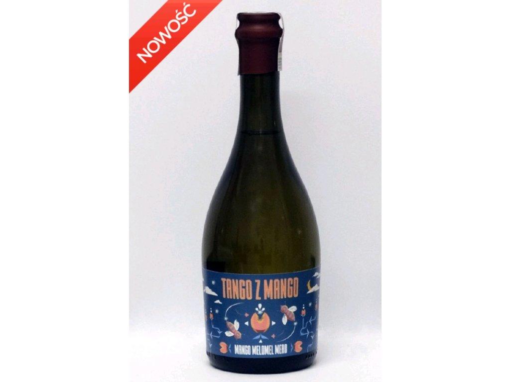 Miodosytnia Imbiorowicz - Mango Tango - Miód pitny trójniak - 0.5 l  glass