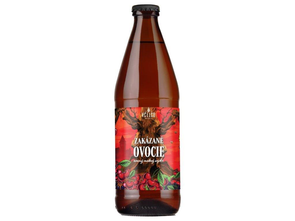 Včelco - Zakazane ovoce (Forbidden fruit - fruit honey cider) - 0.5 l