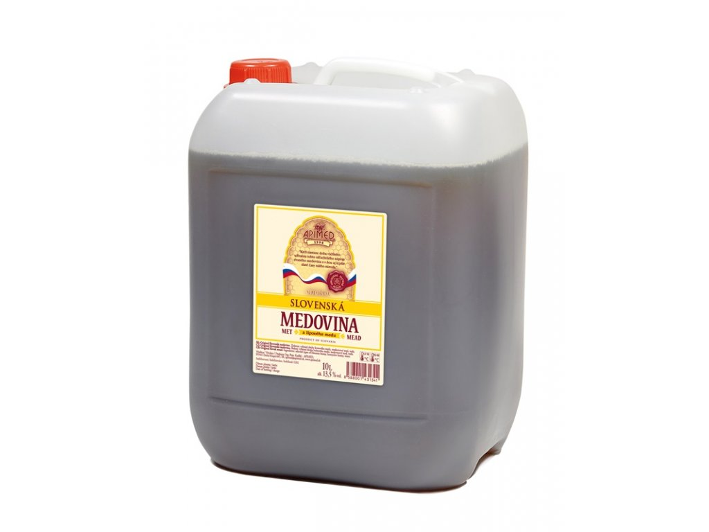Apimed - Original Slovak mead - 10 l  plastic