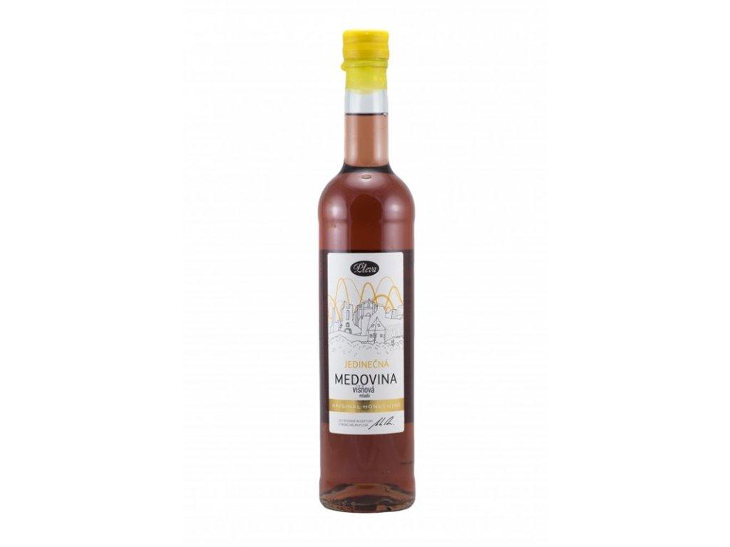 Pleva - Unique mead - cherry (young mead) - 0.5 l  glass