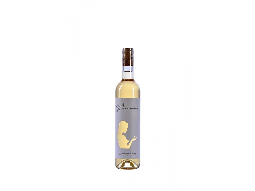 Radomir Dvorak - Elderberry honey wine (fresh flower & berry) - 0.5 l  glass
